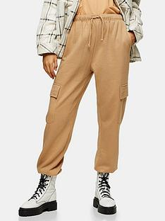 topshop-tall-harry-utility-jogger-tan
