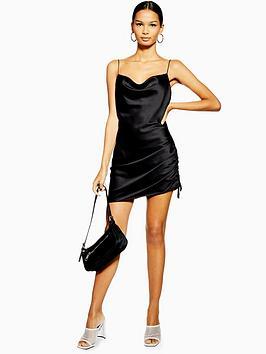 topshop-mini-slip-dress-black