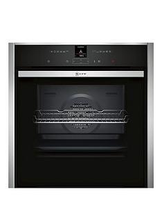 neff-neff-b47cr32n0b-circotherm-12-functions-electronic-black-with-steel-trim