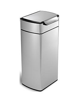 simplehuman-30-litre-touch-bar-bin-brushed-steel