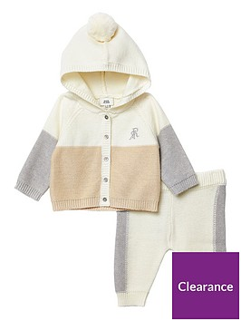 river-island-baby-blocked-knitted-cardigan-outfit-cream