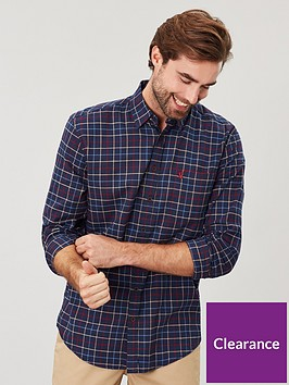 joules-classic-fit-check-shirt-navy