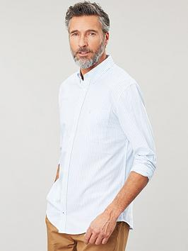 Joules Joules Striped Oxford Shirt - Blue Stripe Picture