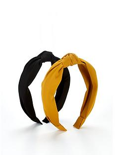 v-by-very-satin-knot-hairband-2-pack-multi
