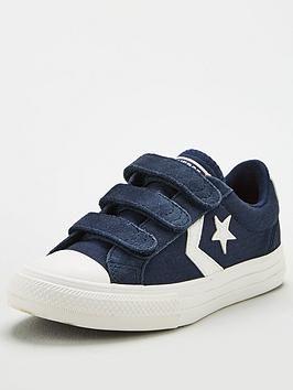 Converse Converse Childrens Star Player 3V Ox Trainers - Navy Picture