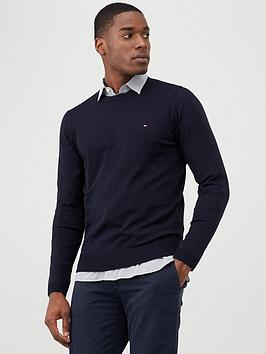 Tommy Hilfiger Tommy Hilfiger Core Crew Neck Jumper - Navy Picture