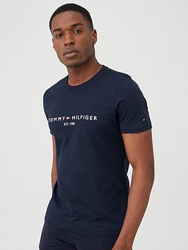 Tommy Hilfiger Tommy Hilfiger Core Logo T-Shirt - Navy Picture