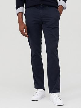 Tommy Hilfiger Tommy Hilfiger Core Straight Flex Chino Trousers - Navy Picture