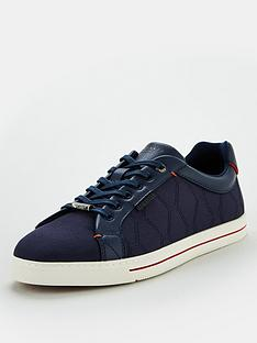 ted-baker-ashtol-canvas-trainers-navy