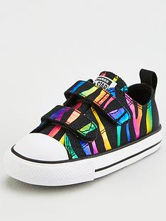 converse-chuck-taylor-all-star-2v-ox-metallic-zebra-stripe-toddler-trainer-blackmulti