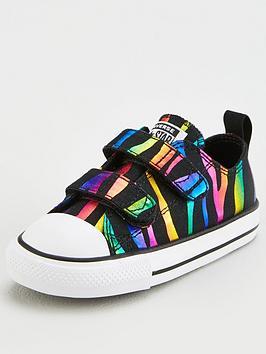 converse-chuck-taylor-all-star-2v-ox-metallic-zebra-stripe-toddler-trainer-blackmulti