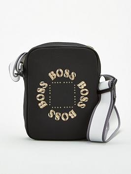 Boss Boss Pixel Triple Logo Mini Cross Body Bag - Black Picture