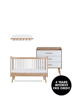 silver-cross-west-port-cot-bed-dresser-wall-shelf