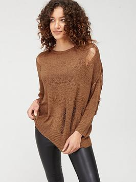 Religion Religion Slouch Bloom Knit - Oatmeal Picture