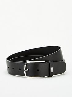 boss-jemy-leather-branded-keeper-belt-black