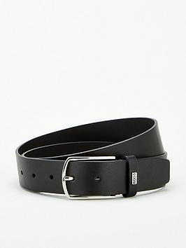 Boss Boss Jemy Leather Branded Keeper Belt - Black Picture