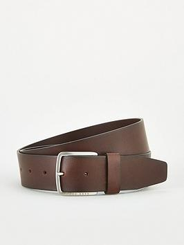 Boss Boss Sjeeko Leather Jeans Belt - Brown Picture