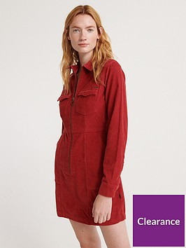 superdry-hadley-cord-shirt-dress-rednbsp