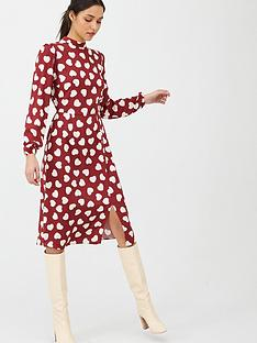 v-by-very-high-neck-midi-dress-heart-print