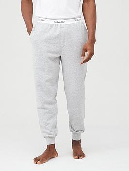 Calvin Klein   Modern Cotton Lounge Pants - Grey Marl