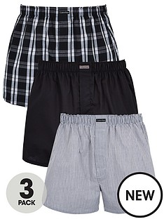 calvin-klein-three-pack-woven-boxer-shorts-grey