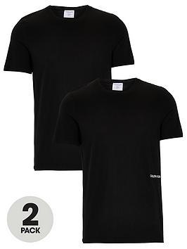 Calvin Klein Calvin Klein 2 Pack Of Statement 1981 Slim Fit T-Shirts -  ... Picture