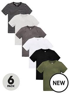 v-by-very-boys-6-pack-short-sleeve-pocket-t-shirts-blackgreykhaki