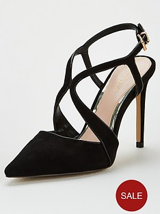 carvela-kraft-cross-strap-heeled-shoe-black