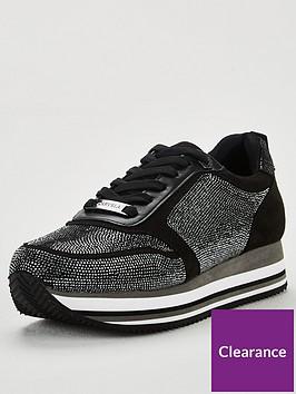 carvela-langley-trainers-black