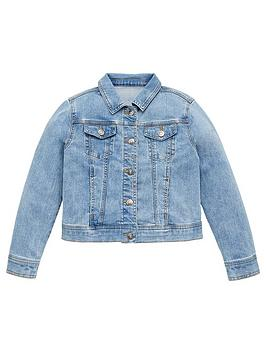 V by Very V By Very Girls Core Denim Jacket - Denim Picture