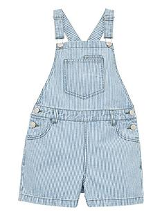 v-by-very-girls-stripe-short-denim-dungarees-stripe