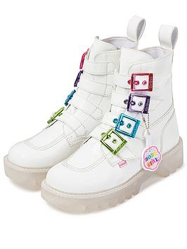 Kickers Kickers Kizziie X Confetti Crowd Higher Buckle Vegan Ankle Boot -  ... Picture