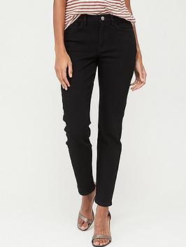 V by Very V By Very The Cigarette Slim Jeans - Black Picture