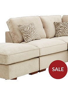kingston-fabricnbspleft-hand-standard-backnbspcorner-chaise-with-footstool-and-sofa-bed
