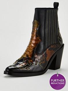 kurt-geiger-london-damen-ankle-boot