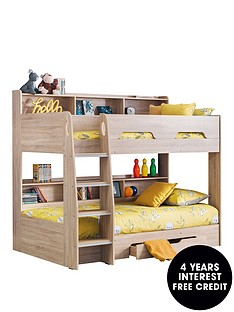 julian-bowen-riley-bunk-bed-with-shelves-and-storage-oak-effect