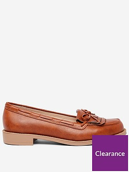 dorothy-perkins-wide-fit-loafers-tan