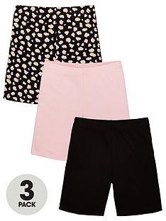v-by-very-girls-3-pack-cycling-shorts-multi