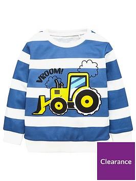 v-by-very-boys-striped-tractor-sweatshirt-navy