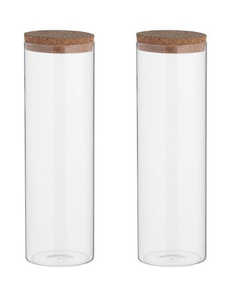 typhoon-monochrome-set-of-two-18-litre-storage-jars-with-cork-lids