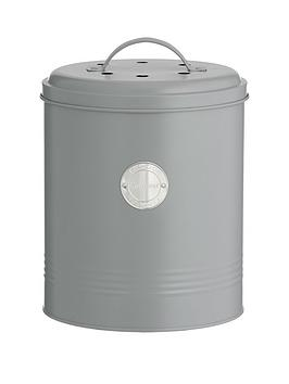 Typhoon Typhoon Living Compost Caddy In Grey Picture