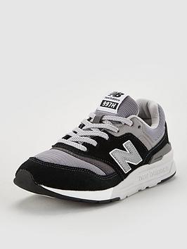 New Balance New Balance 997 Junior Trainers - Black/Grey Picture