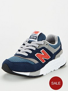 new-balance-997-childrens-trainers-navyred