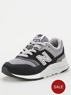 new-balance-997-childrens-trainers-blackgrey