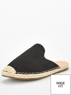 v-by-very-maeve-wide-fit-backless-flat-espadrille-black