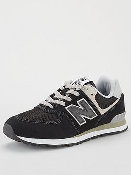 new-balance-574-junior-trainers-black