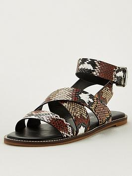 V by Very V By Very Hadley Wide Fit Strappy Sandal - Multi Picture