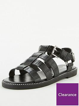 v-by-very-harley-gladiator-flat-sandal-black