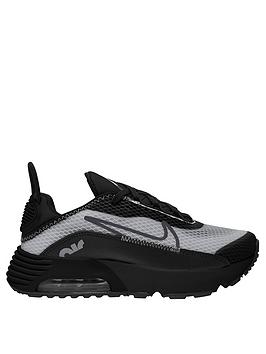 Nike Nike Air Max 2090 Childrens Trainer - Black/Grey Picture