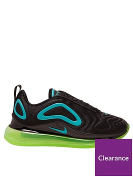 nike-air-max-720-older-kidsnbsptrainers-blackgreen